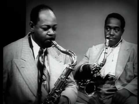 Coleman Hawkins and Charlie Parker
