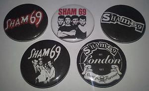 sham 69 buttons